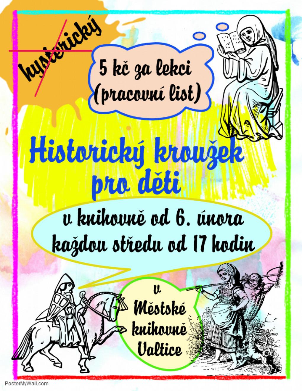 Historicky Krouzek Pro Deti Mestska Knihovna Valtice
